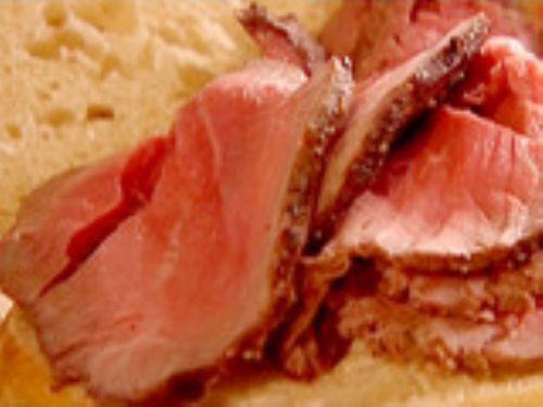 Sliced Roast Beef Recipe
