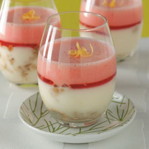 Lemonade Cheesecake Parfaits