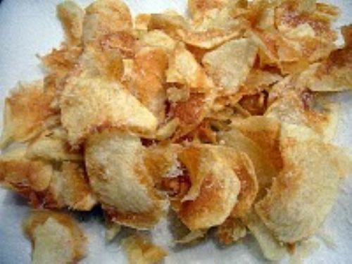 Parmesan Potato Chips