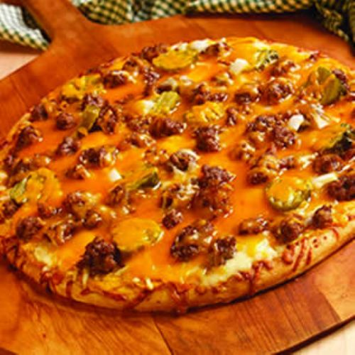 Sausage Cheeseburger Pizza