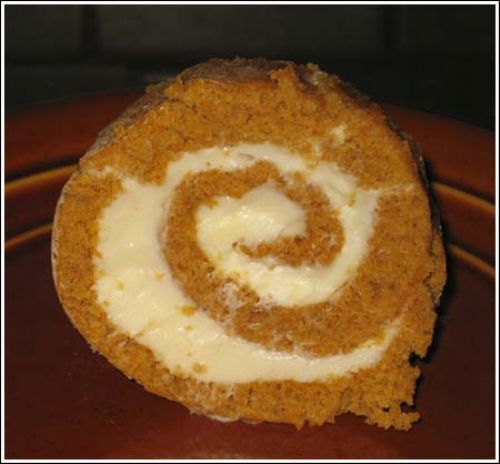Jimmy's Pumpkin Roll