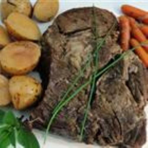 Easy Slow Cooker Pot Roast Recipe