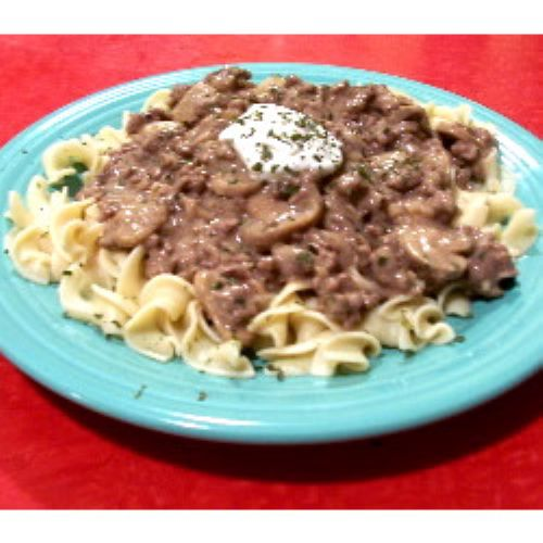 Beef Stroganoff for the 21st Century
