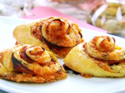 Ham and Cheese Spirals