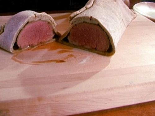 Beef Tenderloin in Salt Crust