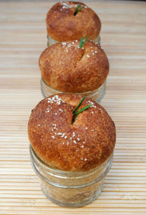 Dinner Rolls Baked in a Jar