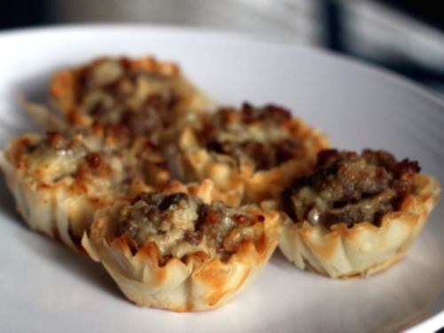Stuffed Sausage Cups