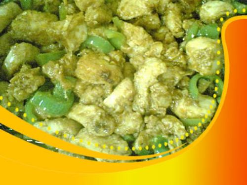 Green Chilli Chicken