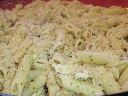 Creamy Pesto Chicken Penne