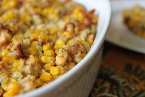 Stuffed Corn Bake