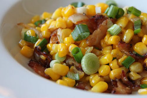 Corn & Bacon Saute