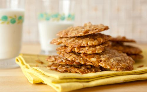 Maple Oat Cookies