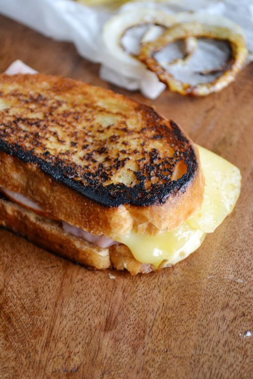 Jarlsberg Grilled Cheese and Ham Sandwich