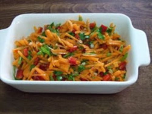 Sweet & Hot Carrot Salad