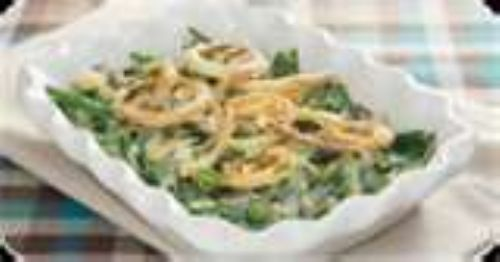 Homemade Green Bean Casserole with Mushroom Gravy