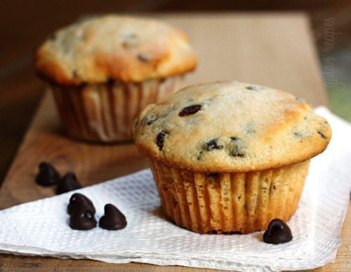 Ricotta Cheese Chocolate Chip Muffins