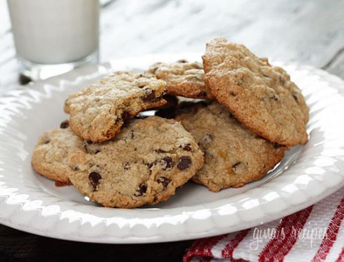 Skinny Low-Fat Chocolate Chip Cookies
