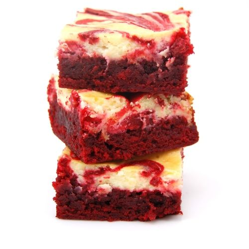 Red Velvet Cheescake Swirl Brownies
