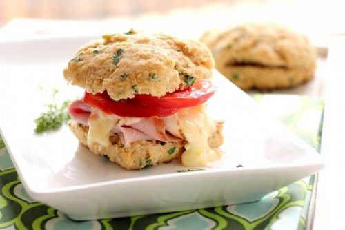 Herbed Biscuit Breakfast Sandwiches