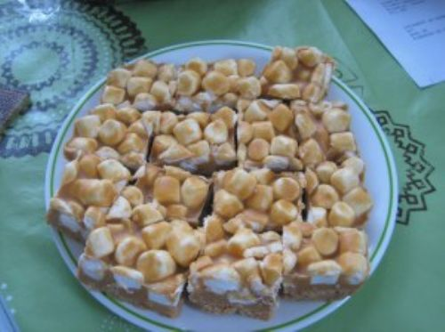 Butterscotch rocky road