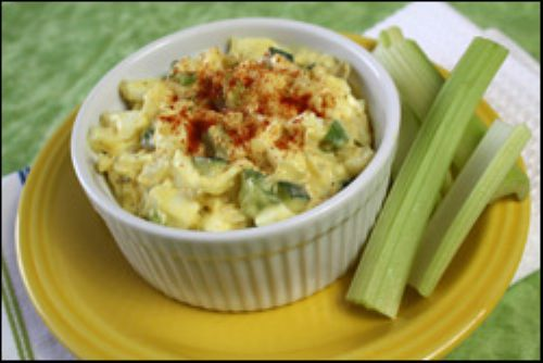Devil-icious Egg White Salad
