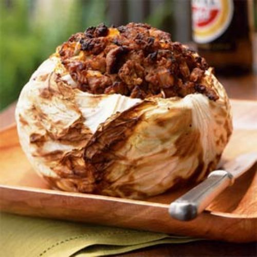 Barbecued Cabbage