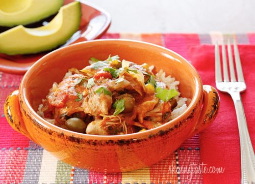 Crock Pot Chicken a la Criolla