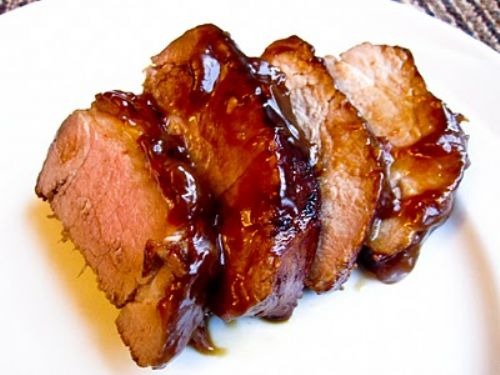 Teriyaki Lime Glazed Pork Tenderloin