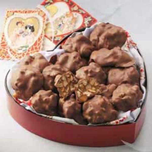 Pecan Caramel Clusters Recipe