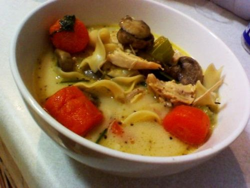 Crazy Delicious Chicken Noodle Soup/Stock Portion