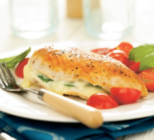 Stuffed Chicken Caprese