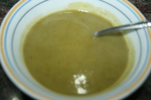 WInter Split Pea Soup