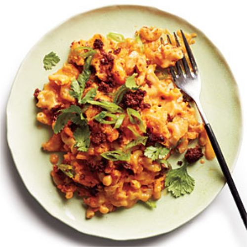 Sweet Potato Chili Mac