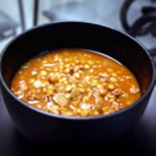 Spicy lentil chili