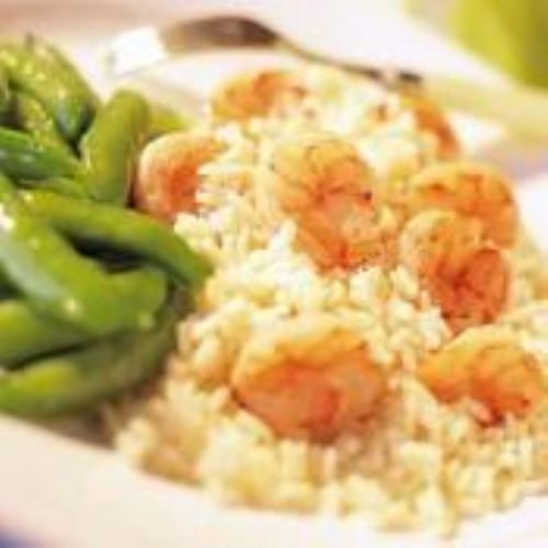 Floribbean Shrimp With Jasmine Rice Recipe