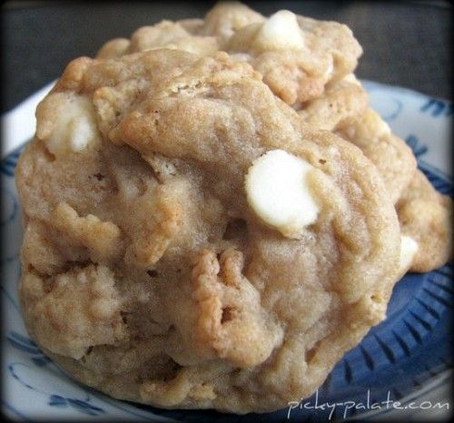 White Chocolate Cinnamon Toast Cookies