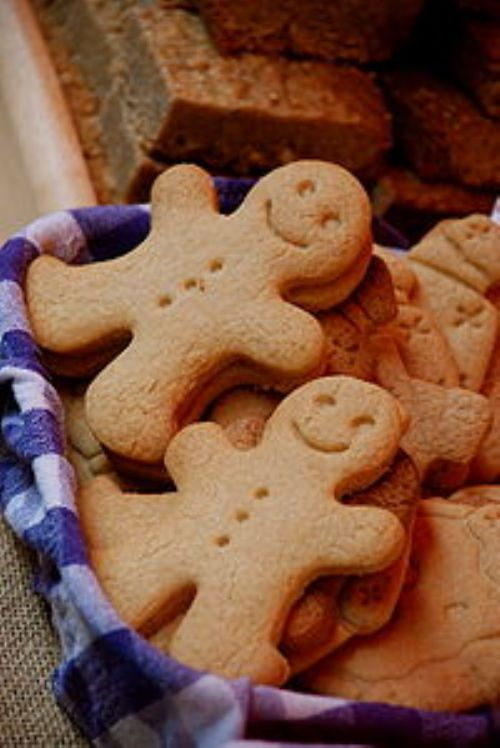 Grandma's Gingerbread Boys