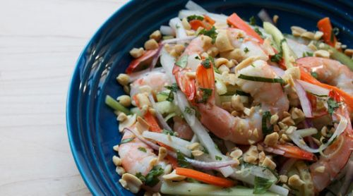 Ginger-Lime Shrimp Salad