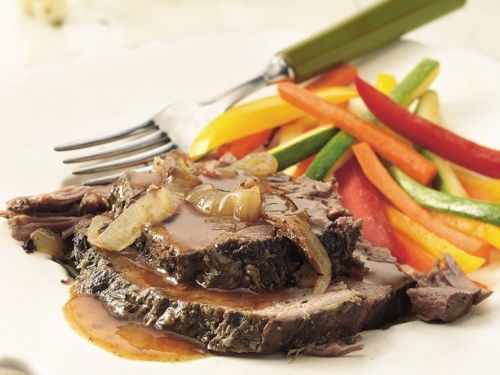 Rosemary-Garlic Beef Roast