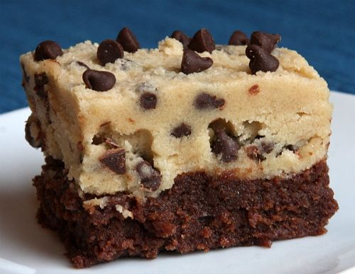 Cookie Dough/Fudge Brownies