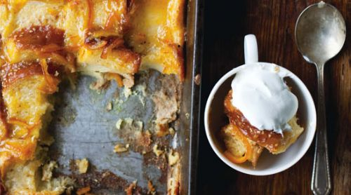Orange- Marmalade Bread and Butter Pudding