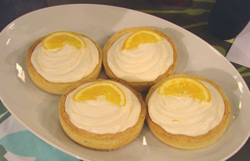 Lemon Cheesecake Mousse Tarts