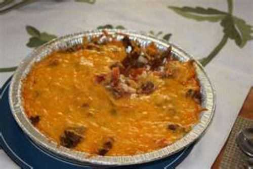 Baked Mexican Dip