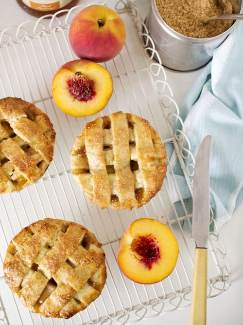 Peach & Bourbon Pie