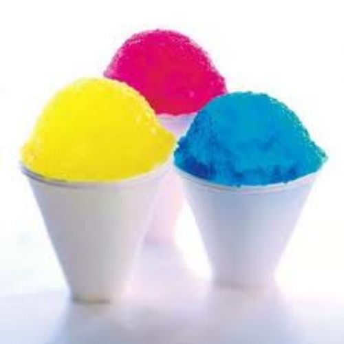 Home Made Ice Cones