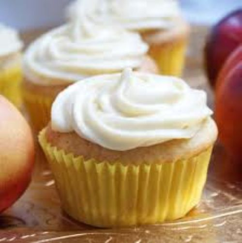 Honey Cupcakes with Honey Cream Cheese