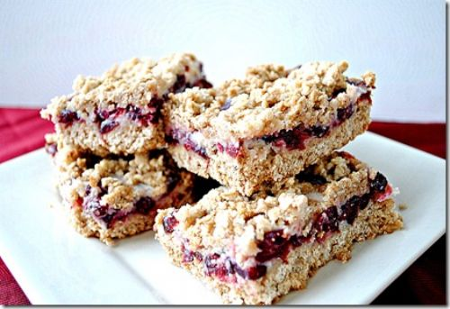 Cranberry Oatmeal Bars