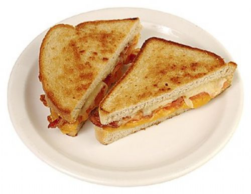 Cheesy Bacon Sandwich