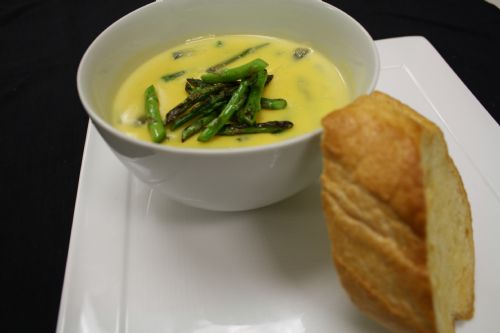 Asparagus Cheese Soup