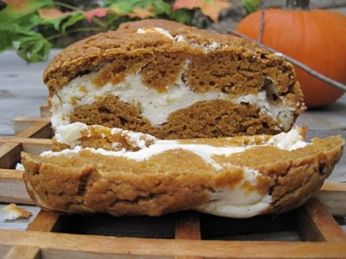 Pumkin and Cream Bread